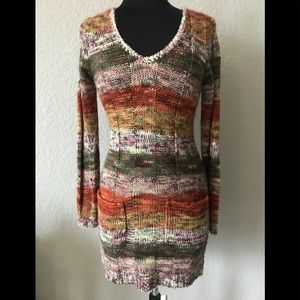 Ultra flirt brand sweater dress